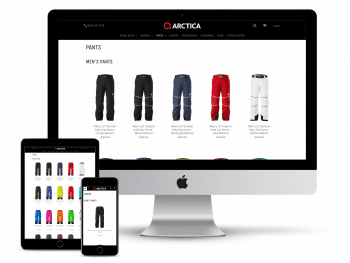 Arctica managed web hosting with Touchstone
