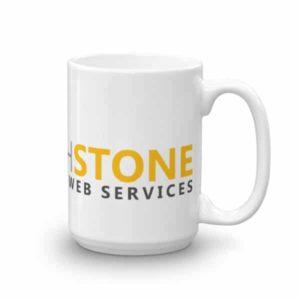 Touchstone ceramic mug